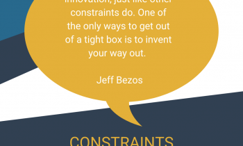 Constraints, creativity and making the most of it.